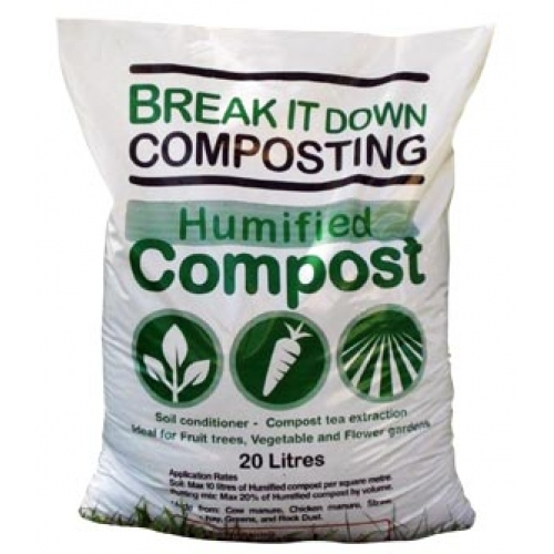 humified compost bags break it down composting compost ForCompost Soil Bags