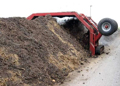 Tractor Pulled Compost Turner TA400